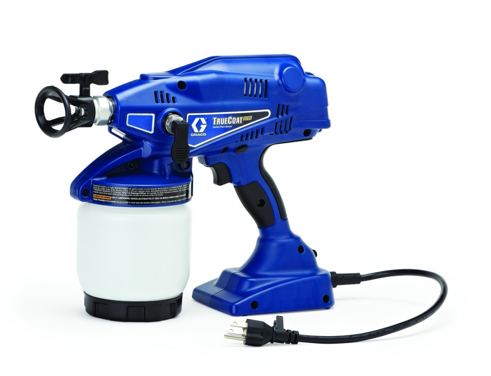 hand held electric paint sprayer runyon equipment rental. Black Bedroom Furniture Sets. Home Design Ideas