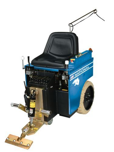 National 5110 Panther Ride On Electric Floor Scraper Stripper