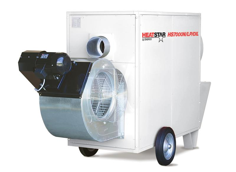 900,000 BTU PORTABLE K-1 INDIRECT DIESEL HEATER