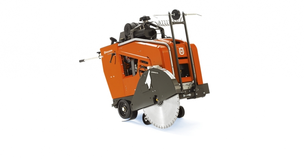 "30"" DIESEL WALK-BEHIND CONCRETE SAW"