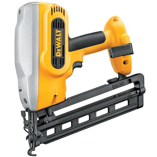 Battery-Powered Angled Finishing Nailer