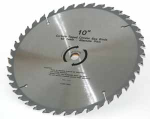 SAW BLADE CARBIDE 10""