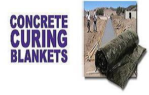 CONCRETE BLANKETS 6'WIDE X25'LONG
