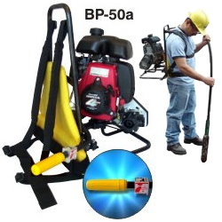 GAS POWERED CONCRETE VIBRATOR BACKPACK