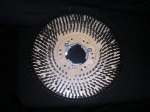 POLISHER FLOOR WIRE BRUSH 17""