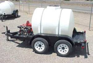 WATER TRAILER 500GAL.CAP.