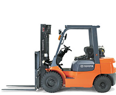 FORKLIFT 14' WAREHOUSE 5000# CAPACITY
