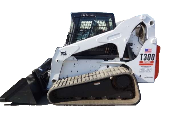 BOBCAT T300 WITH TRACKS