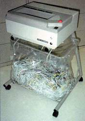 PAPER SHREDDER INDUSTRIAL