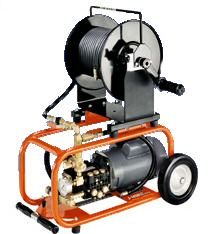 SEWER JET HIGH PRESSURE CLEANER