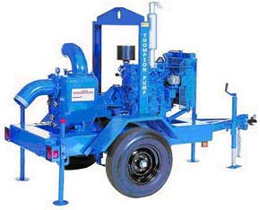 "PUMP 6"" DIESEL TRASH 1,500GPM TOWABLE"