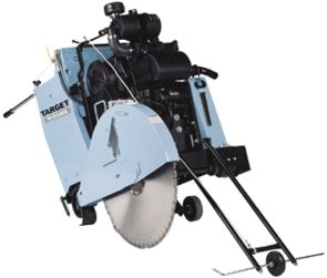 "SAW CONCRETE 35HP GAS 18"" BLADE"
