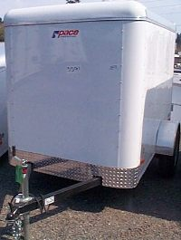 TRAILER 5&#039;X8&#039; ENCLOSED
