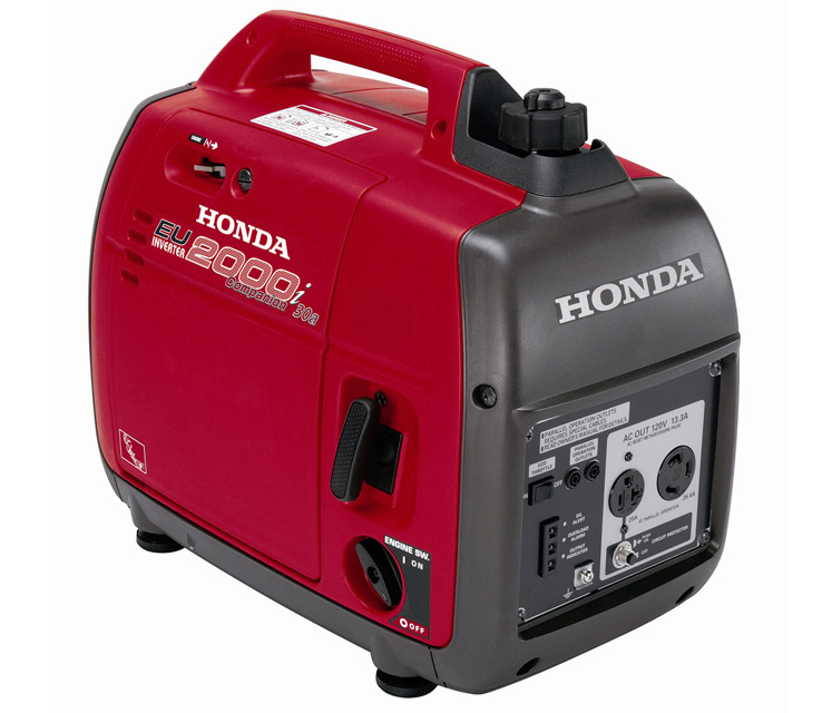 Honda EU2000i Companion 2000 Watt Portable Power Inverter Generator