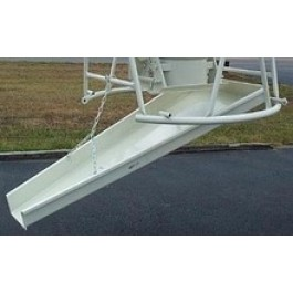 6' CONCRETE STEEL DROP CHUTE FOR 1 YARD BUCKET