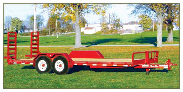 7&#39;10&QUOT;X19&#39;8&QUOT; 24,000 LBS TRAILER