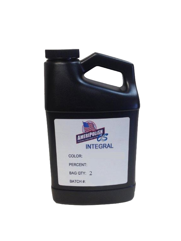 Ameripolish OS Concrete Integral Color - 2 Bag Mix 2%