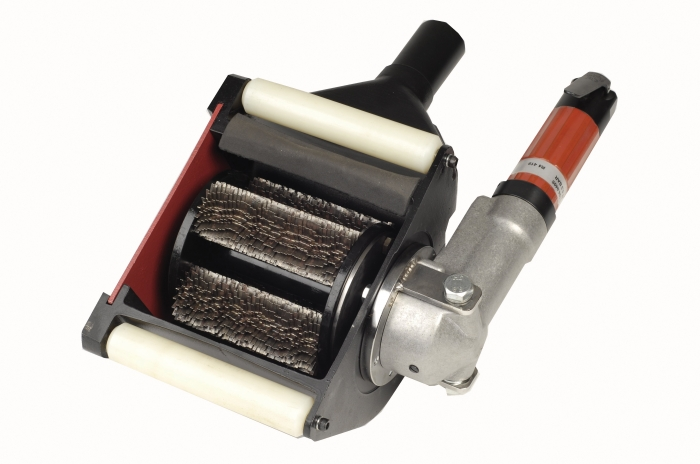 RotoPeen Hand-Held Scarifier with Star Cutters
