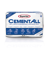 CTS Rapid Set 55 Pound Bag Cement All Grout