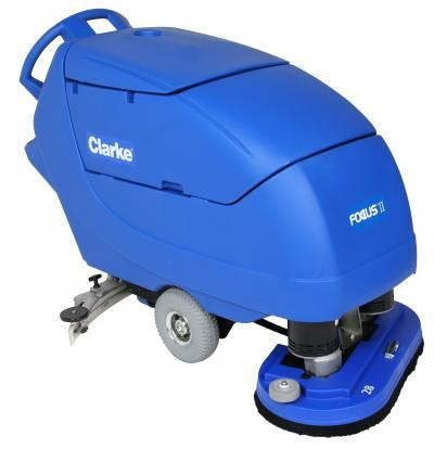 Clarke Floor Auto Scrubbing Machines WalkBehind Sweepers Runyon - How to use a floor scrubber machine