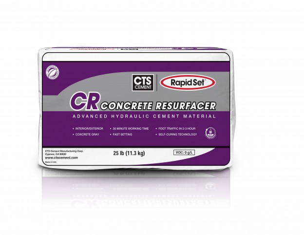 Cts Rapid Set Cr Concrete Resurfacer Runyon Surface Prep