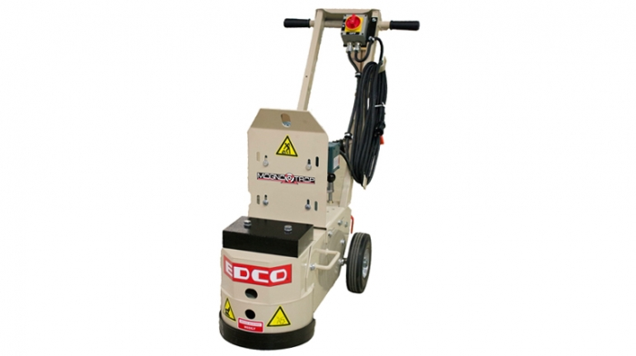 edco wedgeless electric 1.5 hp 115/230 volt concrete floor grinder