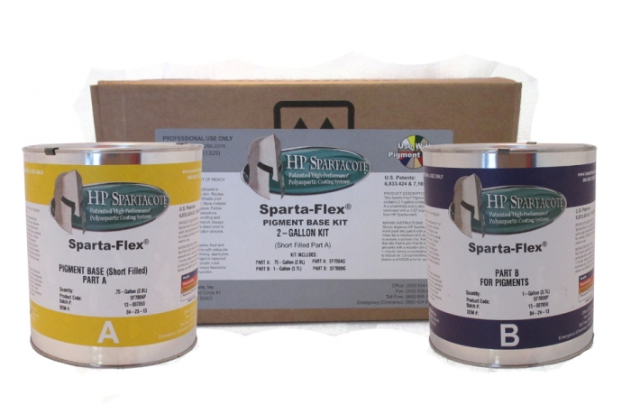 Sparta-Flex (72% Solids) Pigment Base Kit