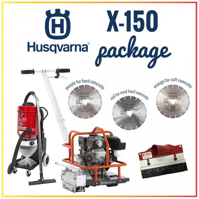 Husqvarna Cutting & Drilling Packages
