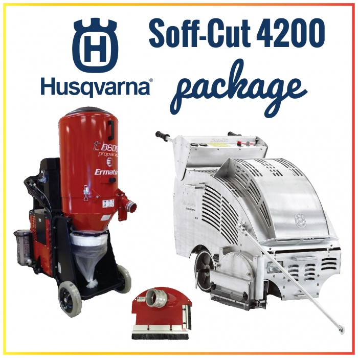 Husqvarna Soff-Cut 4200 Self-Propelled Gasoline Saw Package