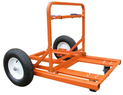 MBW Easy Load Cart For Barrel Mounted Roller Concrete Sprayers