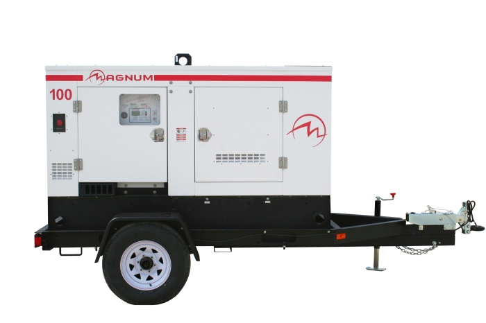 Mi t m gas powered magnum mobile industrial generators runyon surface prep supply - Choosing a gasoline powered generator ...