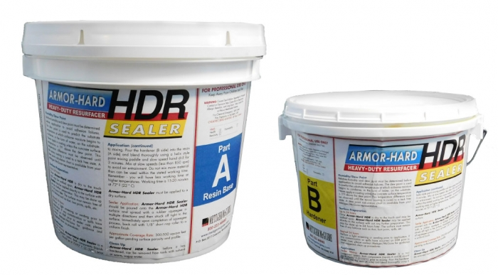 Metzger/McGuire Armor-Hard HDR Heavy-Duty Resurfacer Sealer 1 Gallon Unit