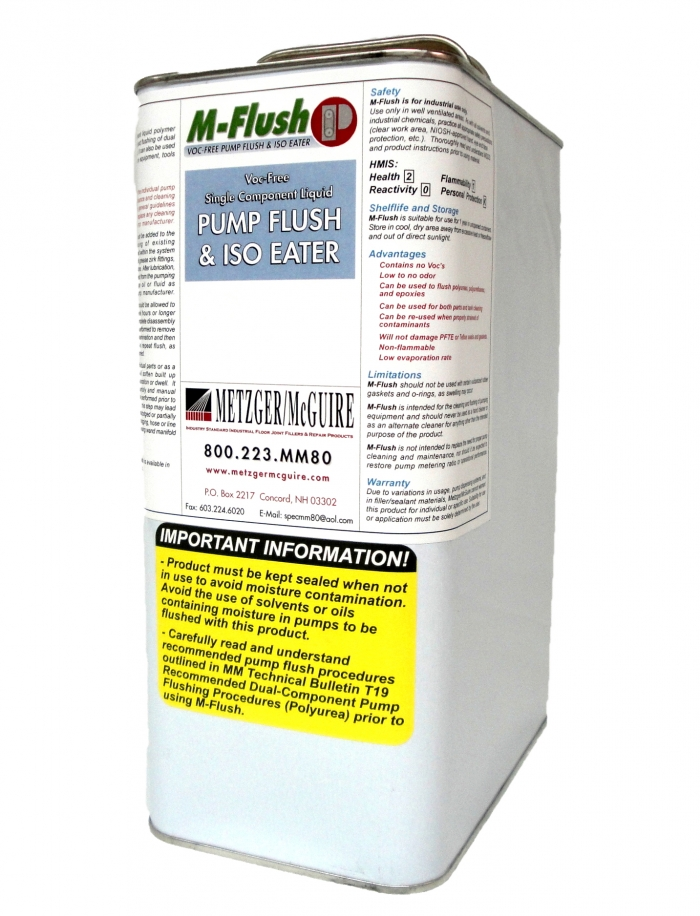 Metzger/McGuire 1 Gallon M-Flush for Joint Filler Industrial Pumps