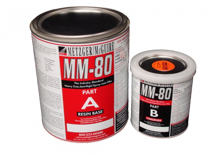 Metzger/McGuire MM-80 1 Gallon Unit Standard Gray Epoxy Joint Filler