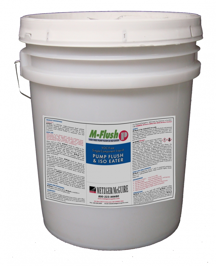 Metzger/McGuire 5 Gallon M-Flush for Joint Filler Industrial Pumps