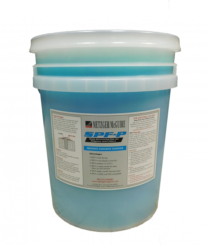 Metzger McGuire Polyurea Joint Filler Stain Prevention Film 5 Gallon