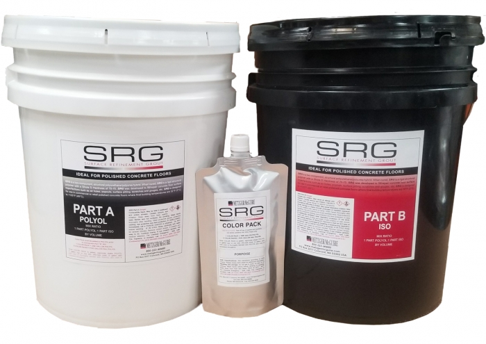 Metzger/McGuire SRG Surface Refinement Grout 10 Gallon Kit