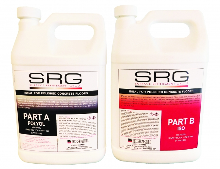 Metzger/McGuire SRG Surface Refinement Grout 2 Gallon Kit