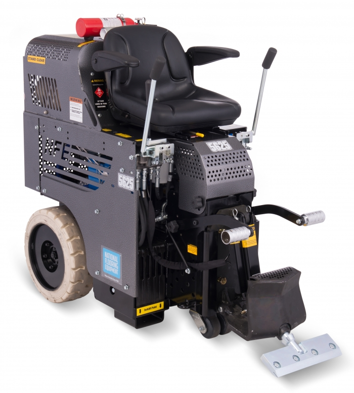 National 5625 Panther Propane Ride-On Floor Surface Scraper
