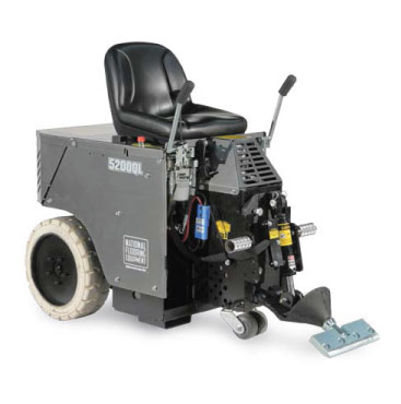 Panther Cordless Ride-On Floor Scraper for Concrete Surface Prep
