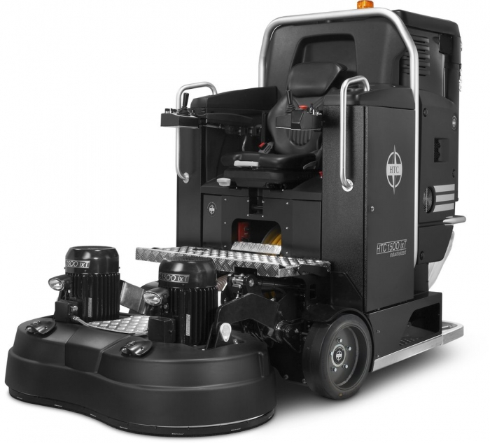 HTC 1500 ixT Three Phase 460 Volt Industrialized ride-on Floor Grinder