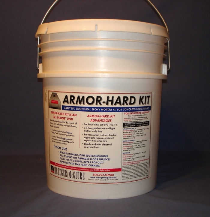 Metzger/McGuire Armor-Hard 5 Gallon Epoxy Kit with Aggregate