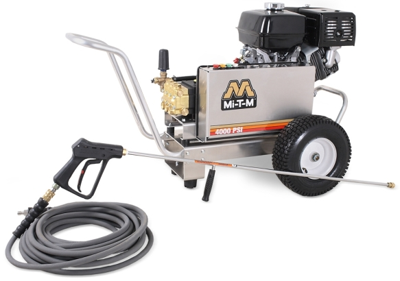 Mi-T-M 4000 PSI Gasoline Powered Aluminum Series Pressure Washer
