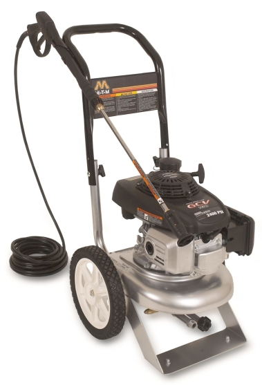 Mi-T-M ChoreMaster Cold Water Gasoline 2400 PSI Pressure Washer