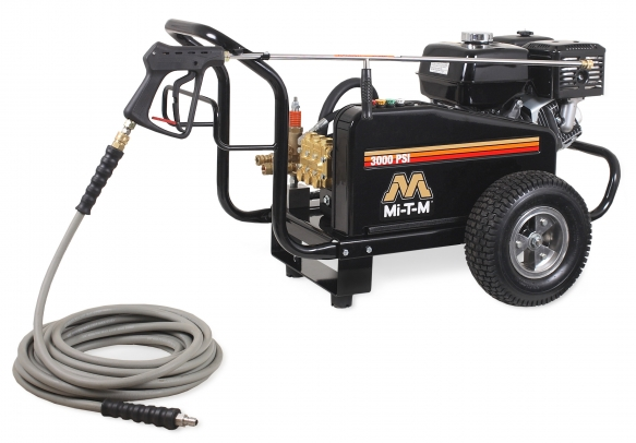 Mi-T-M 3000 PSI Cold Water Gasoline Belt Drive  389cc Honda OHV CW Premium Series Pressure Washer