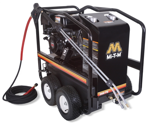 Mi-T-M OHV HSP Series 3500 PSI 389cc Gas Powered Pressure Washer