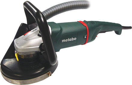 Metabo 7 Quot Angle Surface Grinder With Dust Control Shroud