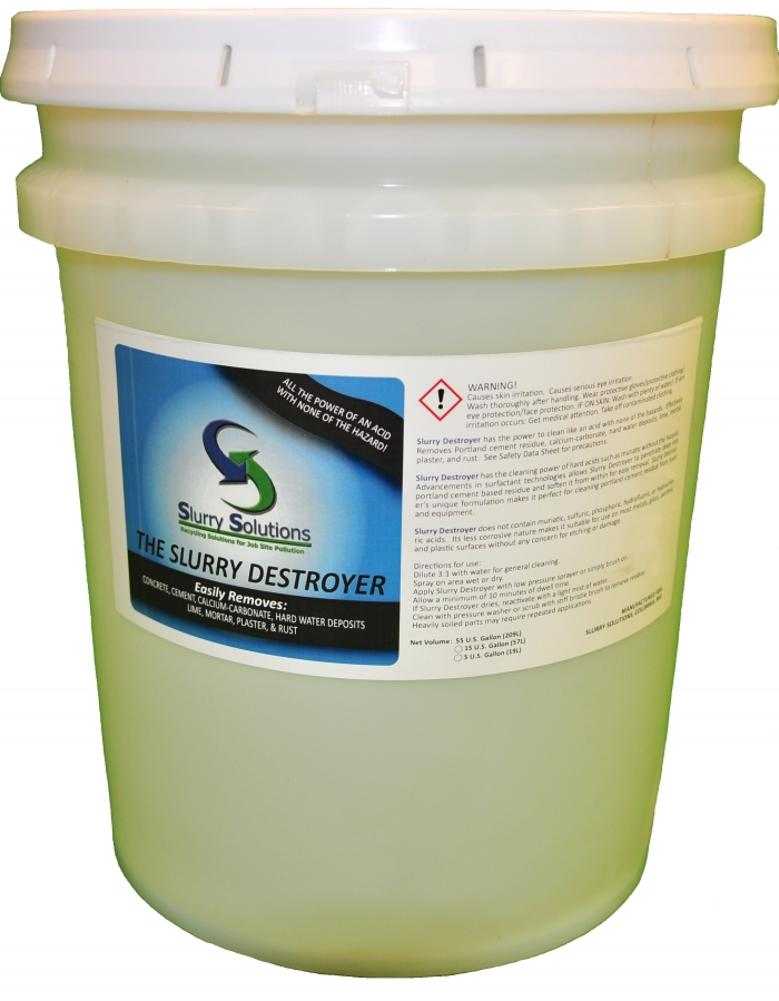 Slurry Destroyer Equipment Cleaner 5 Gallons