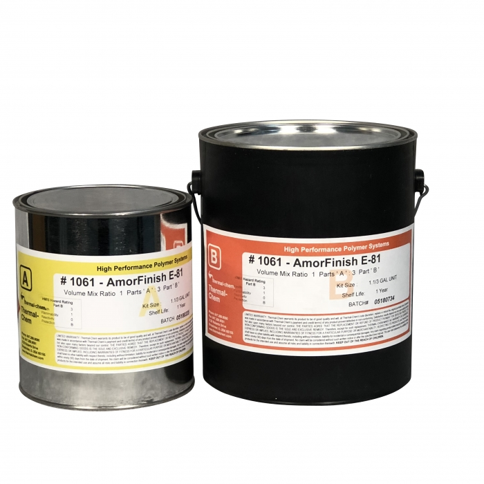 Thermal-Chem DecoFinish 1061 Clear Gloss Urethane (1-1/3 Gal Kit)