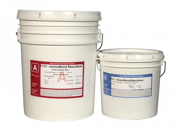 Thermal-Chem ArmorBond 731 Resurfacer (5 Gal Kit)